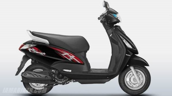 new suzuki swish 125 colour - Glass Sparkle Black