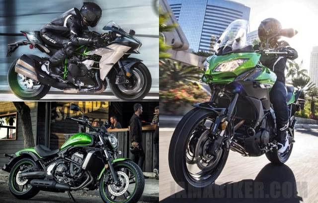 2015 Kawasaki launches