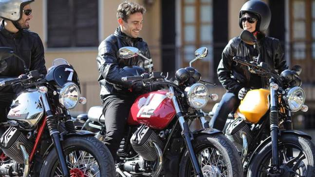 2015 Moto Guzzi V7 II range for India