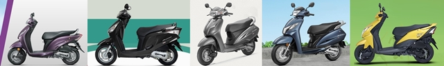 Honda scooters India