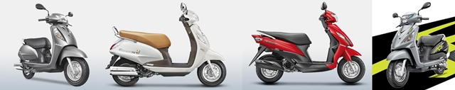 Suzuki scooters India