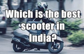best scooter in india