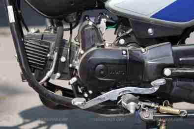 hero splendor ismart engine and gear lever