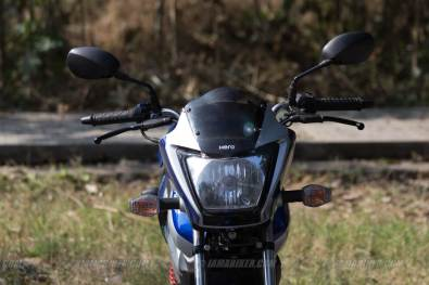 hero splendor ismart front view headlight