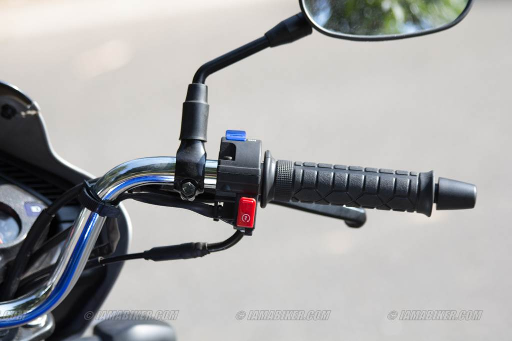 hero splendor ismart right switch gear