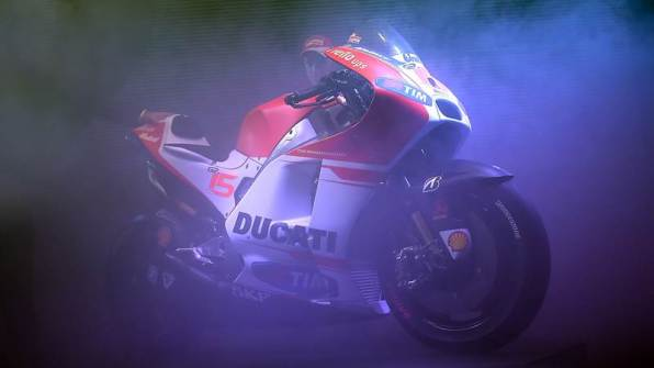 new ducati GP15 motogp bike