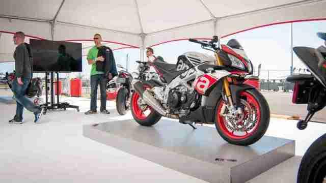 2016 Aprilia models USA prices announced at Daytona Bike Week