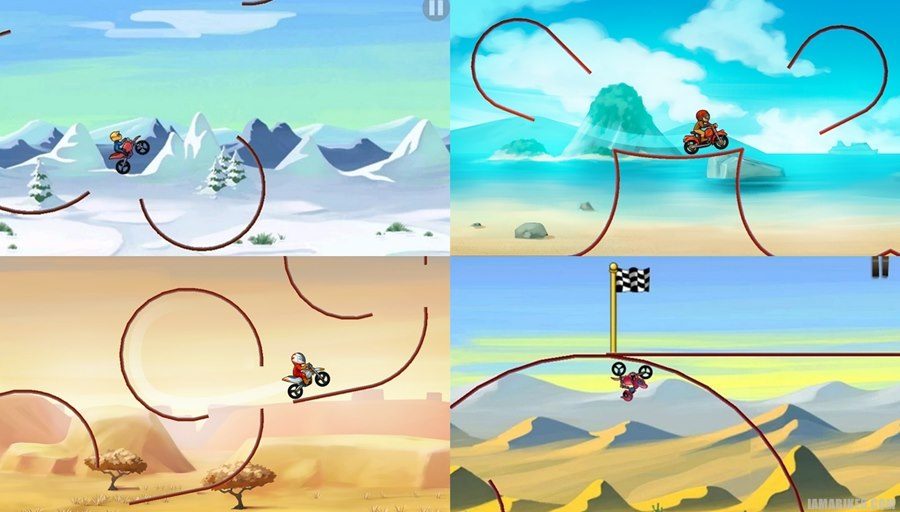 Bike Race Free - best top android motorcycle bike race game