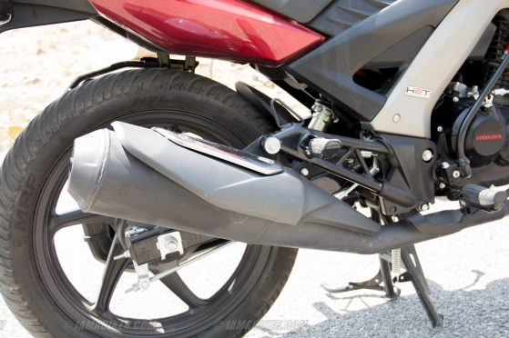 Honda CB Unicorn 160 CBS full exhaust system