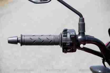 Honda CB Unicorn 160 CBS left switch gear