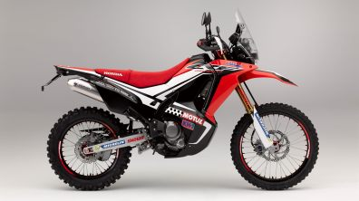 Honda CRF250 Rally concept - side view