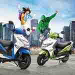 Honda Dio gets new colour options