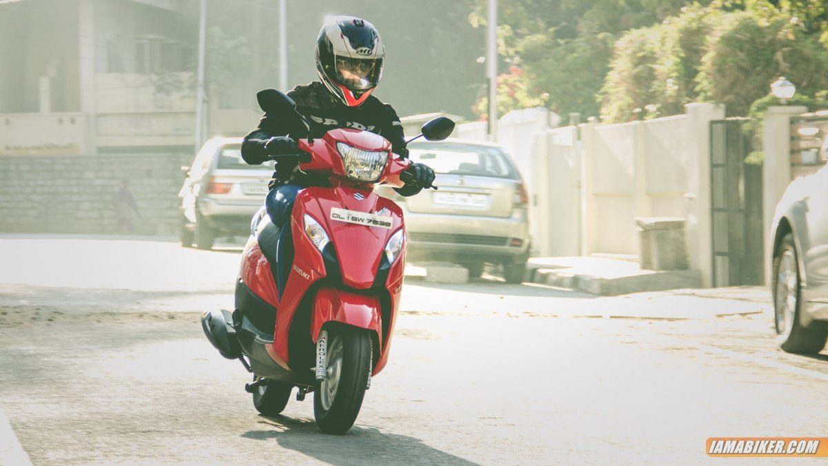 Suzuki Lets scooter review - engine and mileage