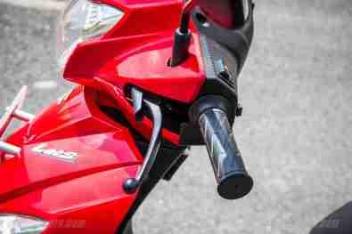 Suzuki Lets scooter back brake with lock