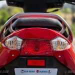 Suzuki Lets scooter tail light with indicator