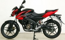 new pulsar 150ns red colour