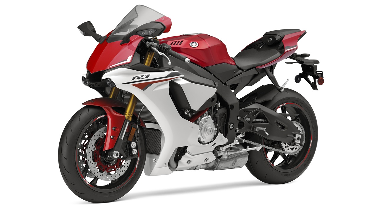 2015 Yamaha YZF-R1M Racing Red colour option