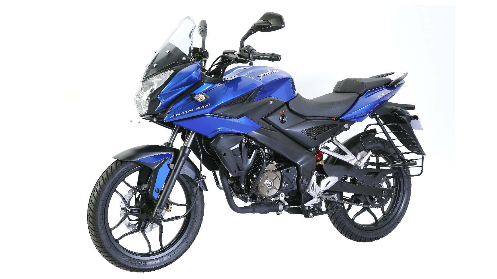 Pulsar AS 150 blue colour option