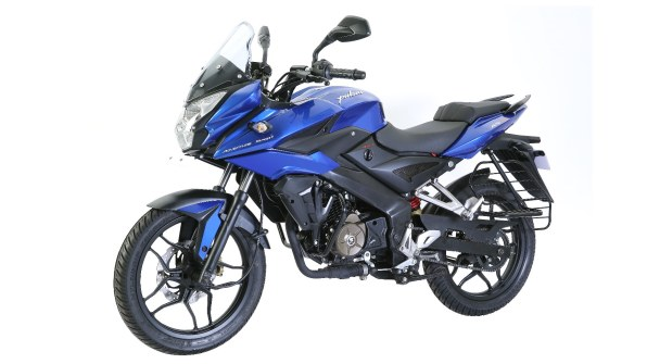 Pulsar AS 150 blue colour option