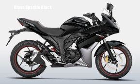 Suzuki Gixxer SF colour option glass sparkle black
