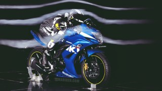 Suzuki Gixxer SF wind tunnel testing