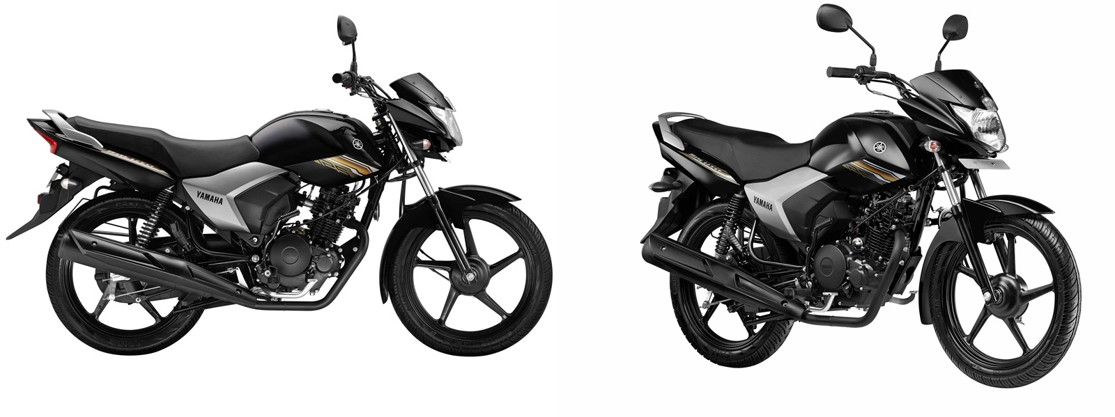 Yamaha Saluto 125 Brave Black colour option