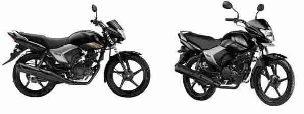 Yamaha Saluto 125 Brave Black colour option