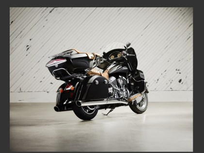 Indian Roadmaster back view