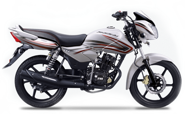 New 2015 TVS Phoenix 125 colour option cherry white