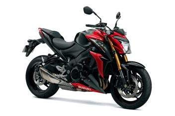 Suzuki GSX-S1000 Candy Red colour option
