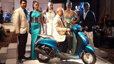 Yamaha Fascino launch unveiling