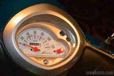 Yamaha Fascino meter console