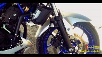 Yamaha MT-25 front forks and disc brake