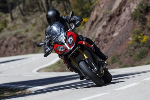 2015 BMW S1000XR outdoor riding