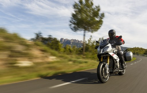 2015 BMW S1000XR white colour outdoor