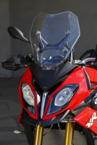 2015 BMW S1000XR wind screen and headlights
