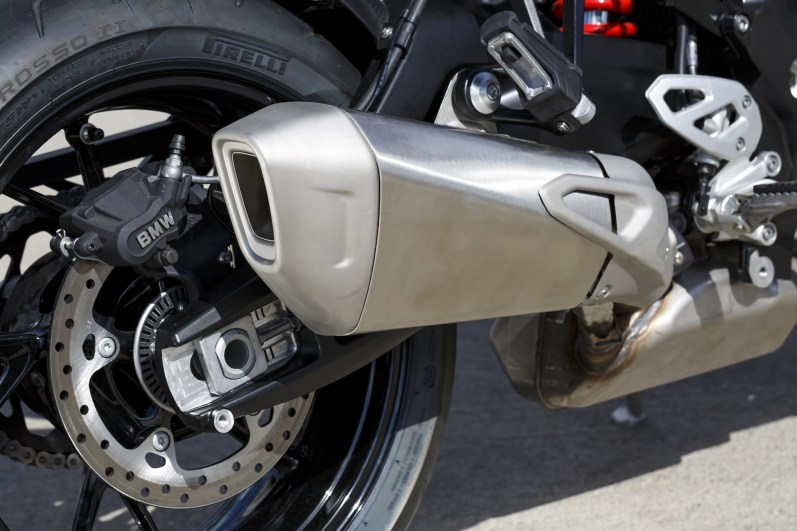 2015 BMW S1000XR exhaust