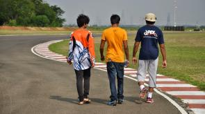 Apex Racing Team track walk