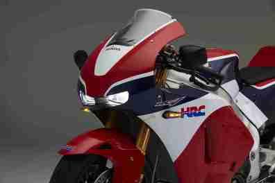 Honda RC213V-S headlights on