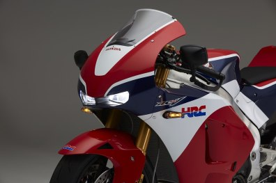 Honda RC213V-S headlights on