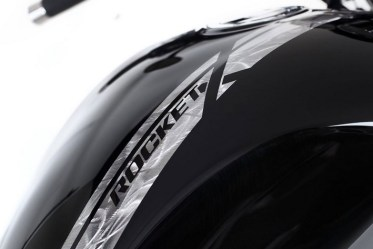 Triumph Rocket X limited edition grinded paint job