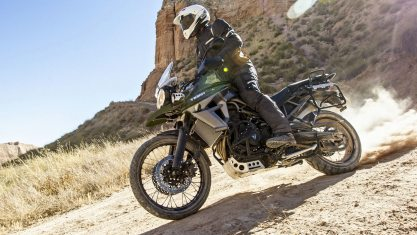 Triumph Tiger 800 XCA HD wallpaper