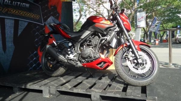 Yamaha MT 25 red