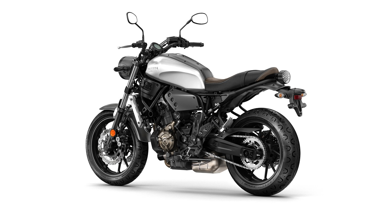 2016 Yamaha XSR700 Garage metal colour option