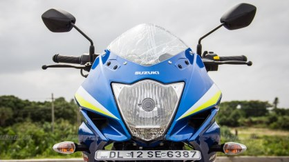 Suzuki Gixxer SF images - headlight