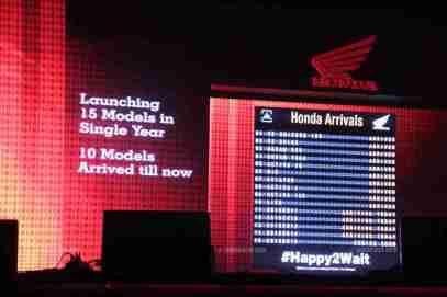 Honda 2015 launch plan