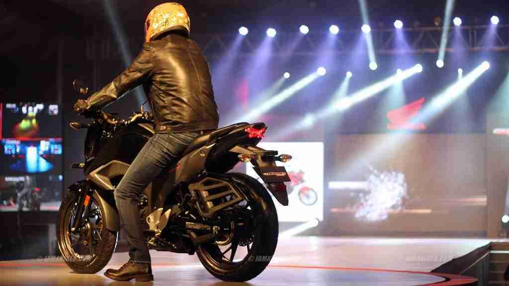 Honda CB Hornet 160R at Honda Revfest