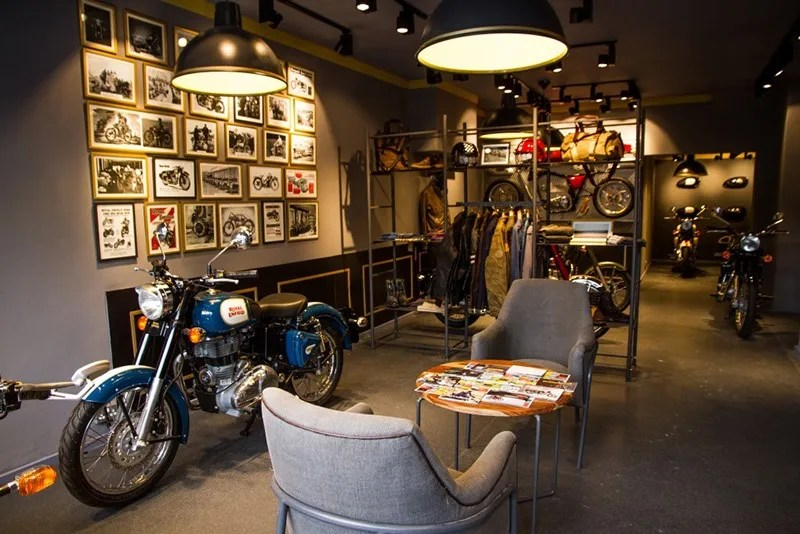 Royal Enfield UK living room concept
