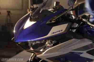 Yamaha YZF-R3 headlight