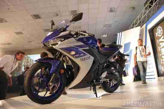Yamaha YZF-R3 launch